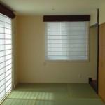 和室もシェードスタイル、解放的ですっきりとした空間になりました